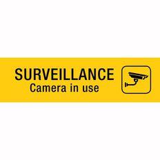 APLI Self Adhesive Surveillance Camera Black