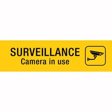 APLI Self Adhesive Surveillance Camera Black