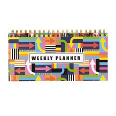 Uniti Street Graphic Weekly Planner