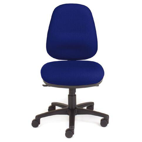 Chair Solutions Ergon Highback Chair Solar Blue Blue
