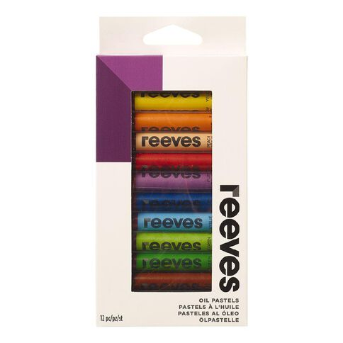 Reeves Oil Pastel Set 12 Pack