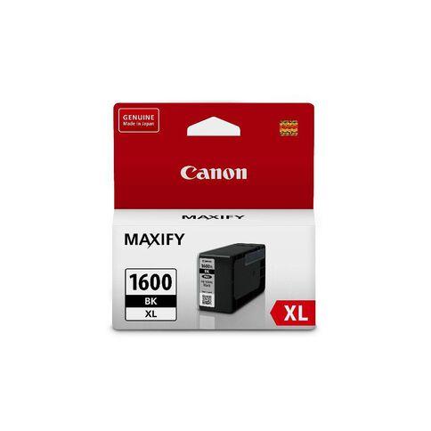 Canon Ink PGI1600XL Black (1200 Pages)