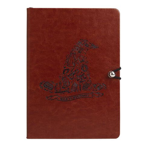 Harry Potter Warner Bros PU Notebook Black A5