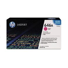 HP 646A Magenta Contract LaserJet Print Cartridge (12500 Pages)