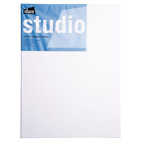 DAS Studio Canvas 18 x 24 White