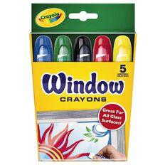 Crayola Window Crayons 5 Pack