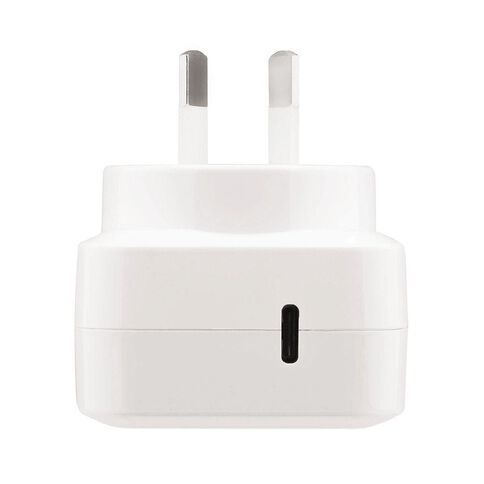 3-SIXT 30W Wall Charger USB C White