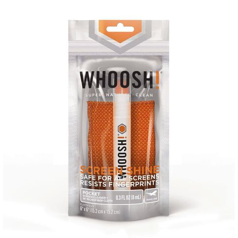 Whoosh! Screen Shine Pocket 8Ml Screen Cleaner Orange
