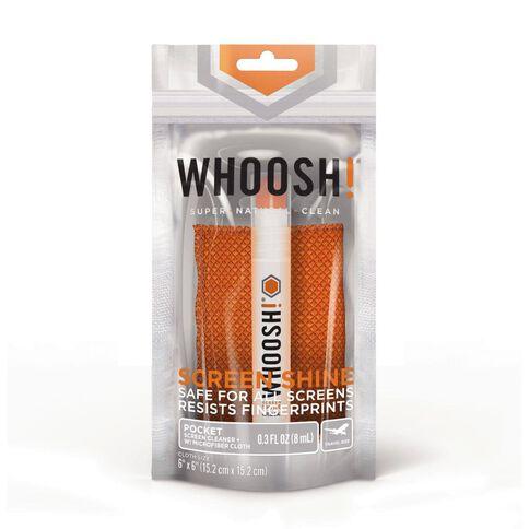 Whoosh! Screen Shine Pocket Screen Cleaner Orange 8ml Orange