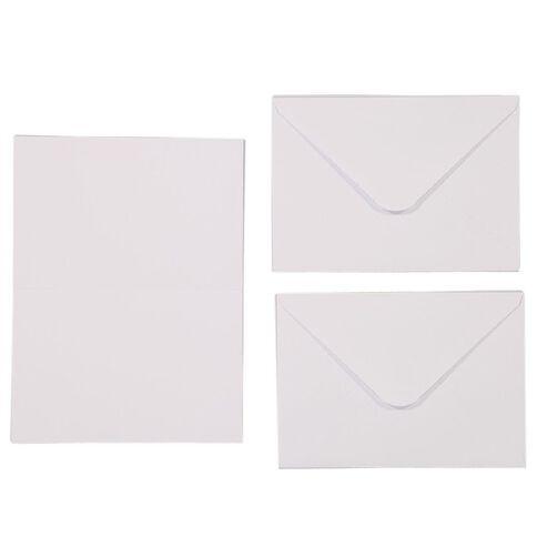 Uniti Cards & Envelopes White 25 Pack