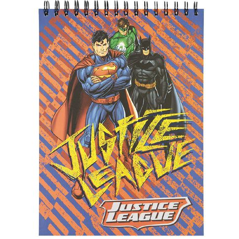 Justice League DC Comics Sketch Pad A4