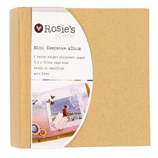 Rosie's Studio Keepsake Mini Album 4in x 4in 6 Page