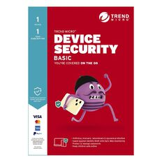 Trend Micro Device Security Basic - 1 Device 1 Year Subscription