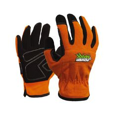 Esko Powermaxx Active Full Fingered Synthetic Work Glove Orange
