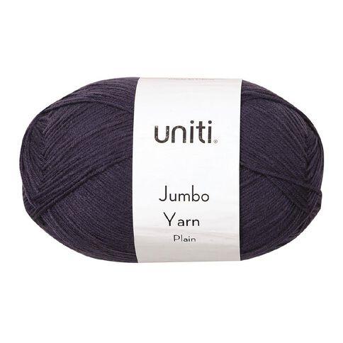 Uniti Yarn Jumbo 8 Ply 300g Charcoal