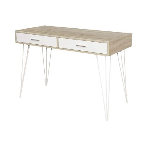 Workspace Metro II Desk Oak