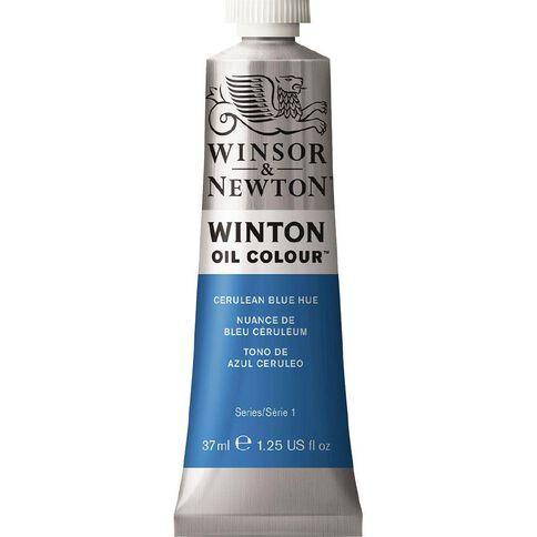 Winsor & Newton Winton Oil Paint 37ml Cerulean Blue