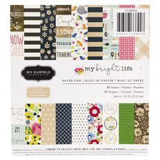 Jen Hadfield My Bright Life Paper 6in x 6in 36 Sheet