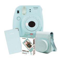Fujifilm Instax Mini 9 Gift Pack Ice