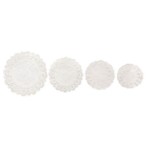 Uniti White Doilies 60 Sheets