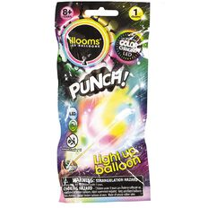 Illooms Punch Colour Changing Light Up Balloon Multi-Coloured
