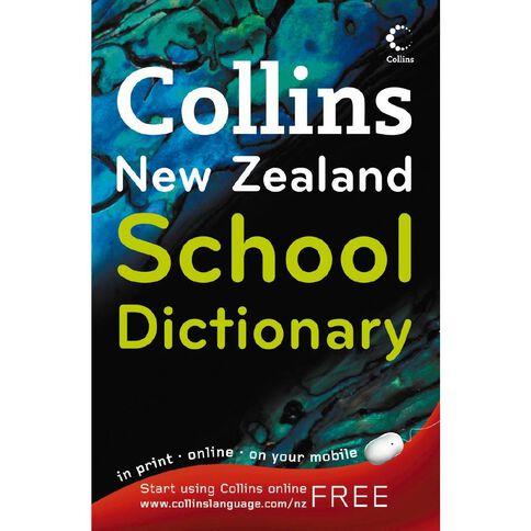 Collins New Zealand School Dictionary