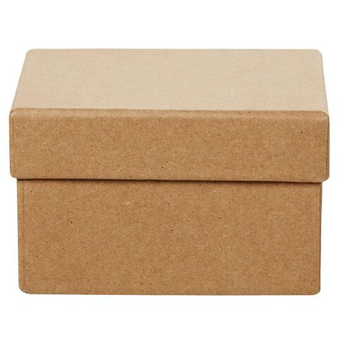 Uniti DIY Kraft Paper Square Box