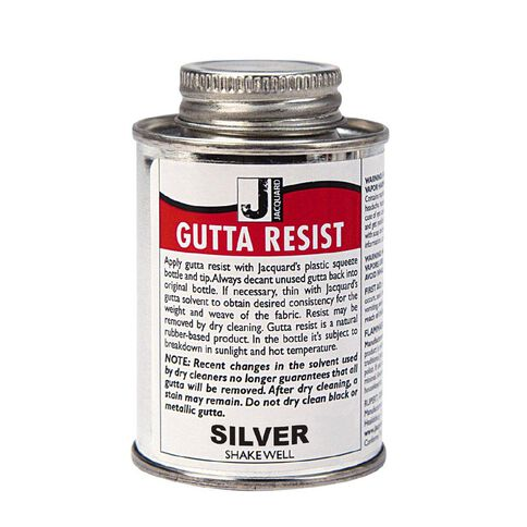 Jacquard Gutta Resist 118.29ml Silver Metallic