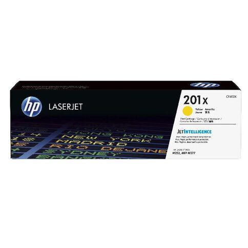 HP Toner 201X Yellow (2300 Pages)