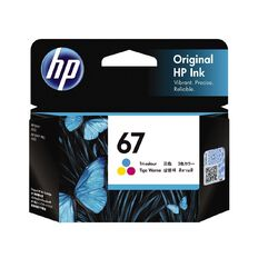 HP Ink 67 Tri Colour (100 Pages)
