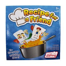 Junior Learning Recipe for a Friend
