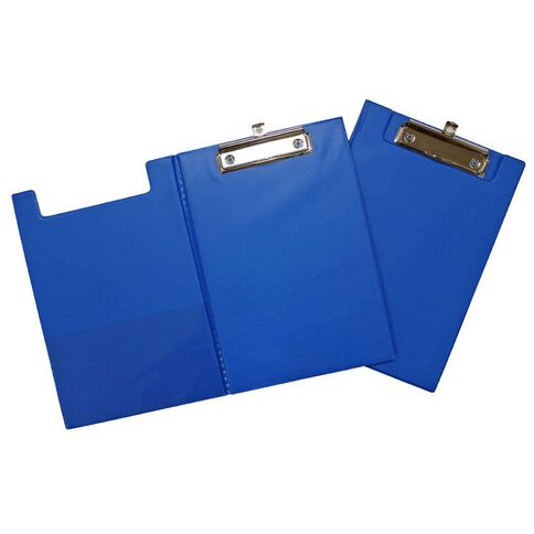 GBP Stationery Pvc Double Clipboard Blue A5