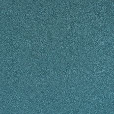 American Crafts Cardstock Glitter Medium 12 x 12 Aqua