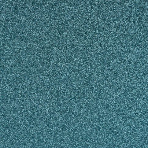 American Crafts Cardstock Glitter Medium 12 x 12 Aqua