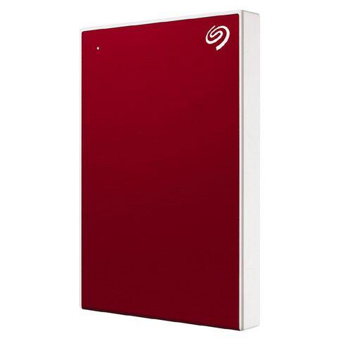 Seagate 2TB Backup Plus Slim Red