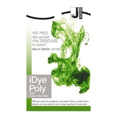 Jacquard iDye Poly 14g Kelly Green