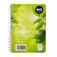 WS Spiral Notebook A6