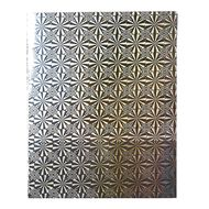 WS Book Cover Holographic Silver 45cm x 1m