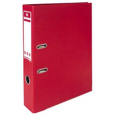 Office Supply Co Lever Arch Red Foolscap