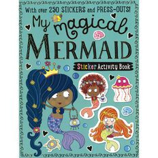 My Magical Mermaids Sticker Activity Books