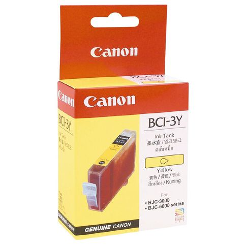 Canon Ink BCI3E Yellow (360 Pages)
