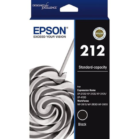 Epson Ink 212 Black (150 Pages)