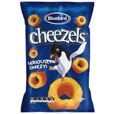 Bluebird Cheezels Cheese 120g