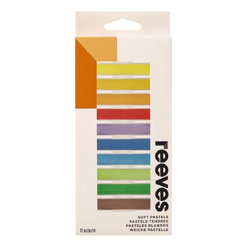 Reeves Soft Pastel Set of 12