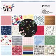 Rosie's Studio Wildflower Paper Pad 6in x 6in 40 Sheet