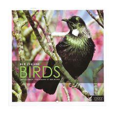 John Sands 2021 Calendar New Zealand Birds 180mm x 180mm