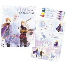 Frozen 2 Travel Clipboard Colouring Kit