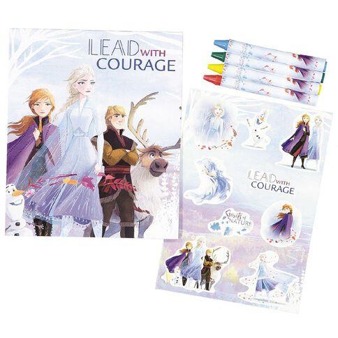 Frozen 2 Travel Clipboard Colouring Kit