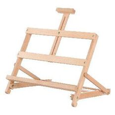 Table Display Easel Beech