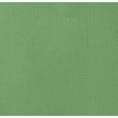 American Crafts Cardstock Textured 12 x 12 Moss Green
